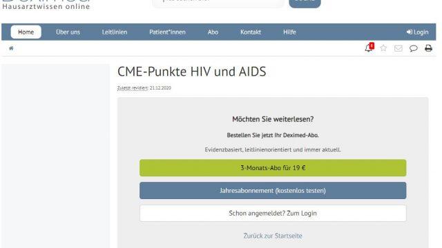 Deximed HIV/AIDS-Kurs Online