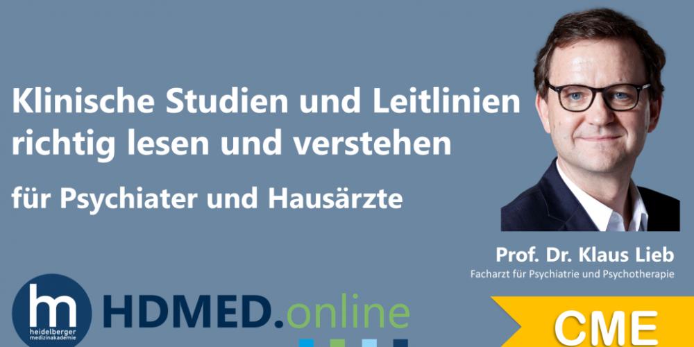 HDMED.online: Klinische Studien und Leitlinien richtig lesen und verstehen