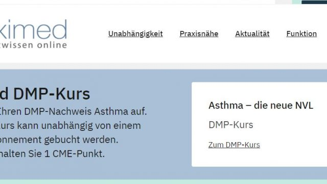 Deximed DMP-Kurs Online