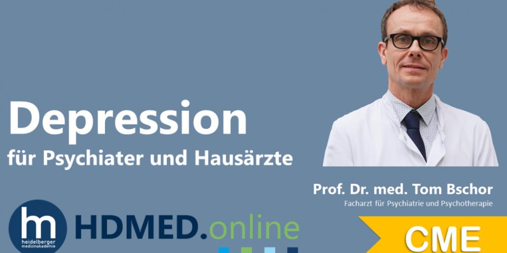 HDMED.online: Depression für Psychiater und Hausärzte