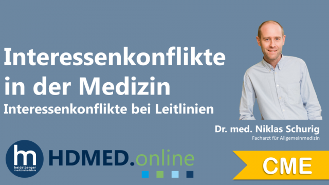 HDMED.online: Interessenkonflikte in der Medizin